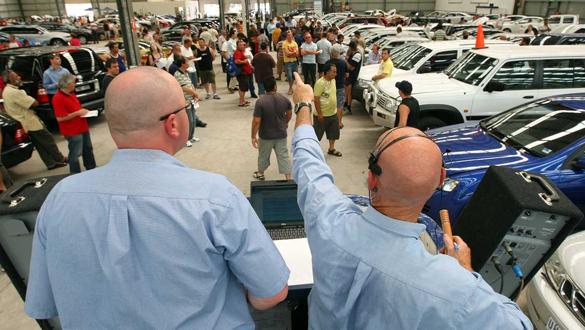 Automation of Car Inspections for Motor Auctions